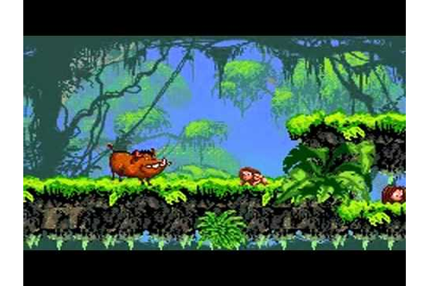 Tarzan : Return to the Jungle sur GameBoy Advance - YouTube