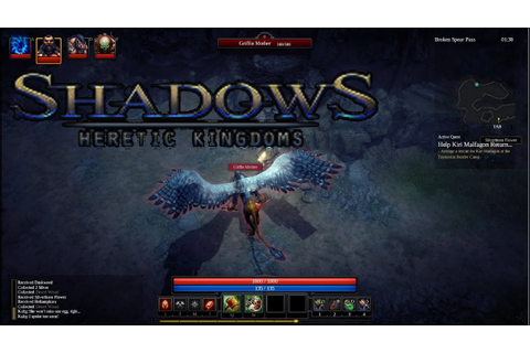 Shadows: Heretic Kingdoms - [PC Win7] Random gameplay 2 ...