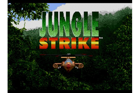 Mega Drive Longplay [173] Jungle Strike - YouTube