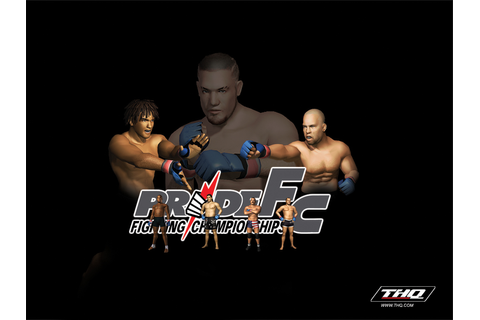PRIDE FC: Fighting Championships (2003) promotional art ...