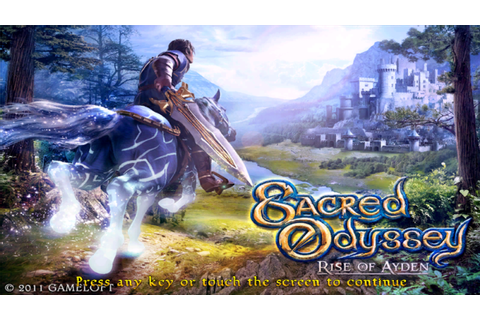 Sacred Odyssey: Rise of Ayden HD apk + data | REVIEW DAN ...