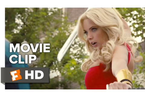 Pixels Movie CLIP - Lady Lisa Fight (2015) - Josh Gad ...