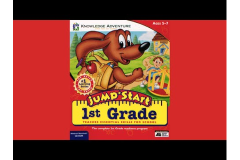 JumpStart 1st Grade (1995) - Game Intro - YouTube