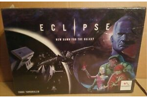 Eclipse New Dawn For The Galaxy Board Game - Brand New ...
