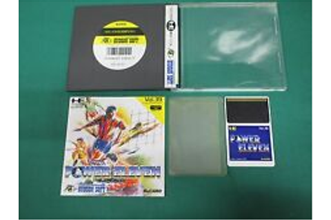 NEC PC Engine HuCARD -- POWER ELEVEN -- JAPAN. GAME. Work ...