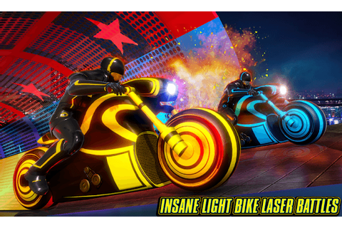 Light Bike Stunt Racing Game APK Download For Free