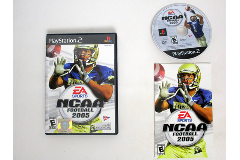NCAA Football 2005 game for Sony PlayStation 2 | The Game Guy
