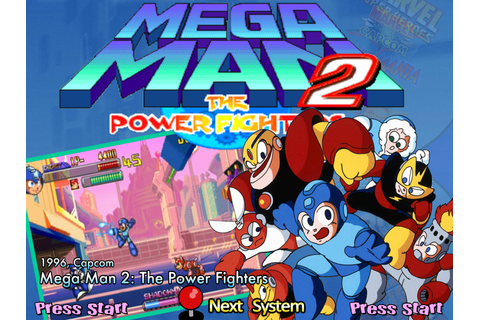 Mega Man 2 - The Power Fighters (960708 USA) ROM - Capcom ...
