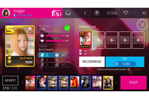 [SuperStar SMTown] Red Velvet all R making (Ice Cream Cake ...
