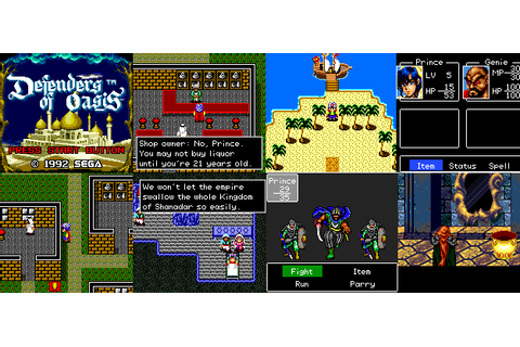 Retro RPG Spotlight / Defenders of Oasis - That VideoGame Blog