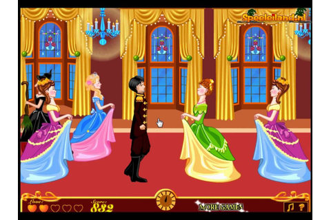 Princess Kissing - Love Games - mary.com - YouTube
