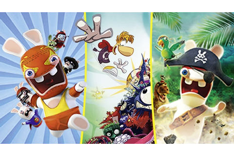 Ubisoft – Site officiel - Rayman and Rabbids Family Pack