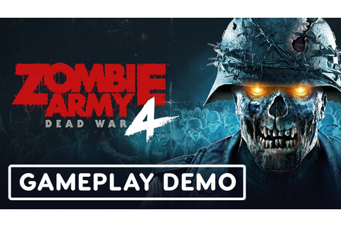Zombie Army 4: Dead War Gameplay Demo - E3 2019 - YouTube