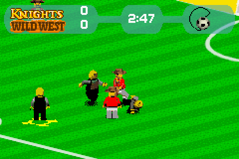 Lego Football Mania (2002) by Tiertex GBA game