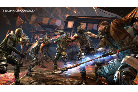 Here's More Gameplay From PS4 Sci-Fi RPG The Technomancer ...