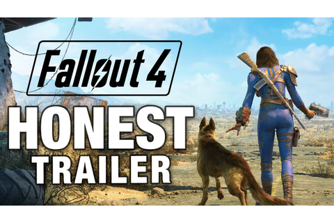 FALLOUT 4 (Honest Game Trailers) - YouTube