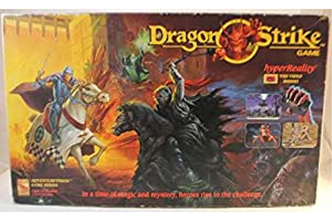 Amazon.com: Board Games TSR Dragon Strike SW: Toys & Games