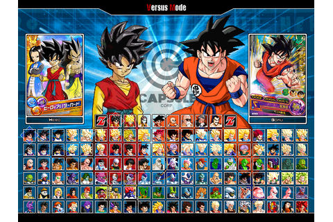 Dragon Ball Heroes MUGEN V3.0 ~ MUGEN - Up