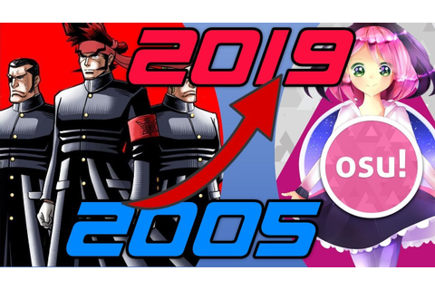 Evolution/History of Osu! Games (2005-2019) [1080p60fps ...