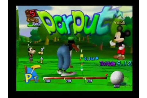 Disney Golf PS2 Multiplayer Gameplay (BVG Games) Part 1 of ...