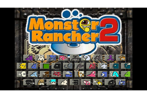 Monster Rancher 2 - All Breeds Battle Exhibition - YouTube