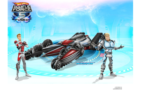 Hot wheels battle force 5 fused video game