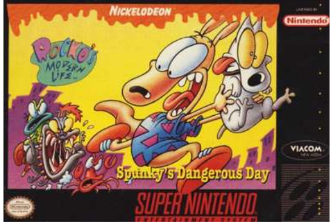 Rocko's Modern Life: Spunky's Dangerous Day for Super Nintendo