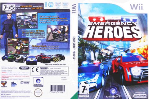 Emergency Heroes PAL Wii FULL | Wii Covers | Cover Century ...