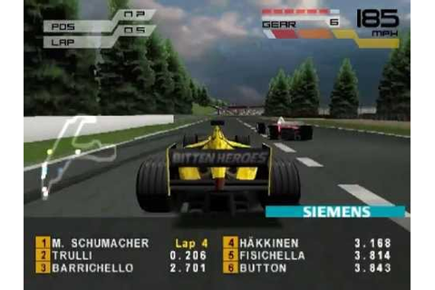 Formula One 2001 Spa-Francorchamps Race (PS1) - YouTube