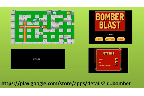 BOMBER BLAST Classic Bomberman Game available for Free ...