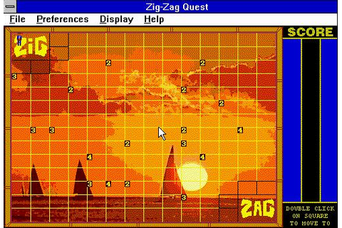 Zig Zag Download (1994 Puzzle Game)