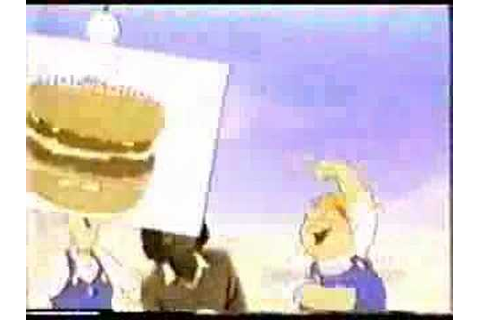 "McDonald's ""Build a Big Mac"" game 1980 - YouTube"