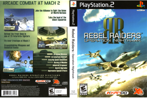 Rebel Raiders – Operation Nighthawk | Covers Games