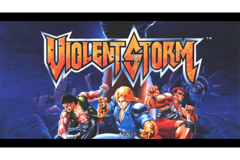 Violent Storm ARCADE Playthrough - YouTube