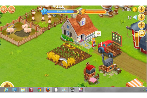 playing Happy Farm - YouTube
