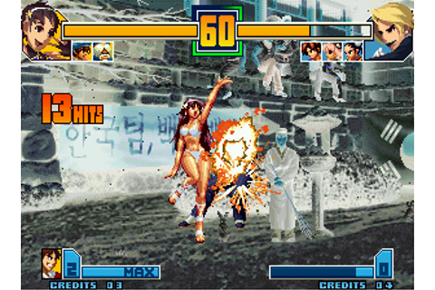 The King of Fighters 2001 | Play Retro SNK Neo Geo games ...