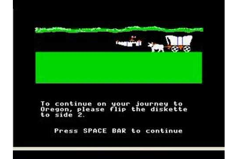 The Oregon trail - YouTube