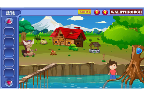 Small Boy Rescue From River Walkthrough game HD - YouTube