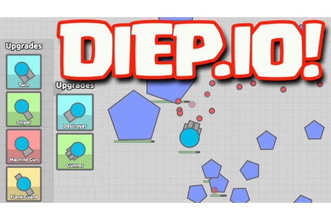 DIEP.IO Game play - Let's Play Diep.io! - YouTube