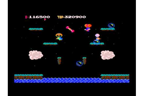 Balloon Fight NES - RetroGameAge