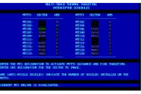 Defcon 5 Download (1987 Simulation Game)