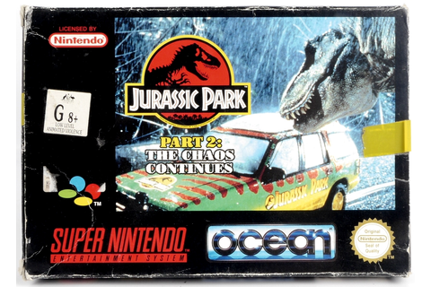 Jurassic Park Part 2: The Chaos Continues - SNES ...