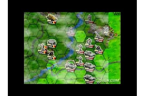 Panzer Tactics DS Nintendo DS Gameplay - Gameplay - YouTube