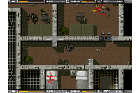 Alien Breed: Tower Assault - The Company - Classic Amiga Games
