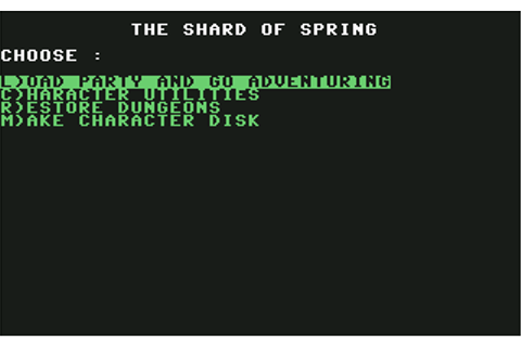 Download Shard of Spring - My Abandonware