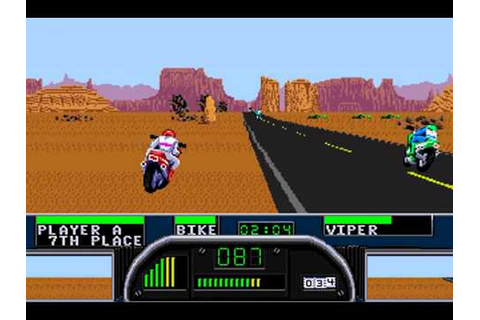 Sega Genesis - Road Rash II (1991) - YouTube