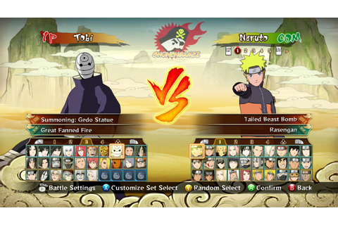 Naruto Shippuden: Ultimate Ninja Storm Revolution Full ...