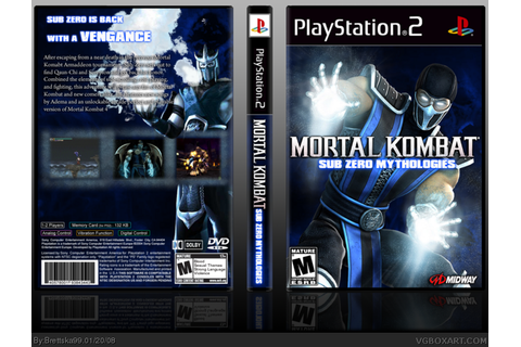 Mortal kombat mythologies sub zero cheats psx