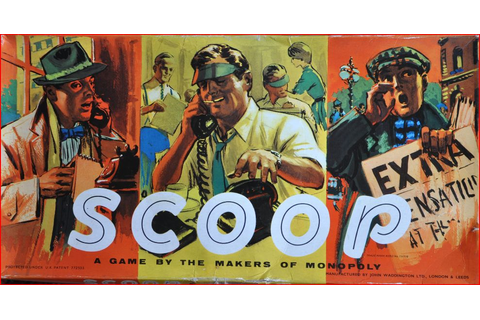 Jon Slattery: Scoop! Playing the Fleet Street reporting game