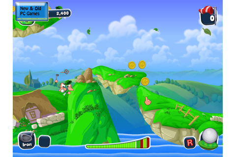 New and Old PC Games: Review: Worms Crazy Golf